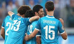 Zenit 5-0 Nordsjaelland (3rd Qualification)