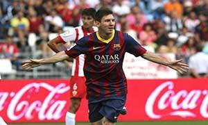 Almeria 0-2 Barcelona