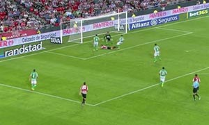 Athletic Bilbao 	2-1 Real Betis