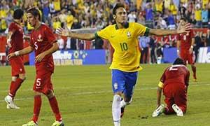Brazil 3-1 Portugal