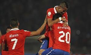 Chile 3-0 Venezuela