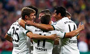 Bayern Munich 4-1 Hannover