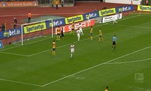Eintracht Braunschweig 0-4 Stuttgart
