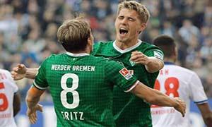 Hamburger SV 0-2 Werder Bremen