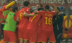 FYR Macedonia 2-1 Wales
