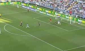 Malaga 5-0 Rayo Vallecano