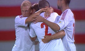 Malta 1-2 Denmark
