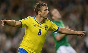 Republic of Ireland 1-2 Sweden