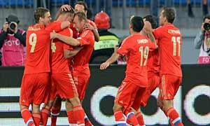 Russia 3-1 Israel