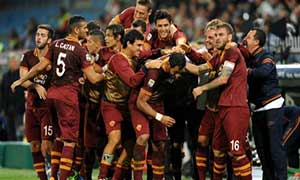 Sampdoria 0-2 AS Roma