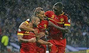 Scotland 0-2 Belgium