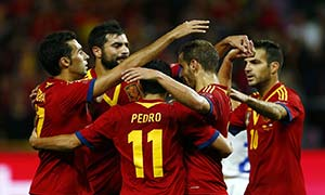 Spain 2-2 Chile