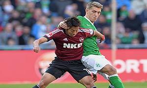 Werder Bremen 3-3 Nurnberg