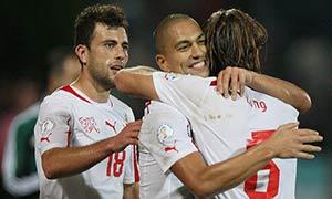 Albania 1-2 Switzerland