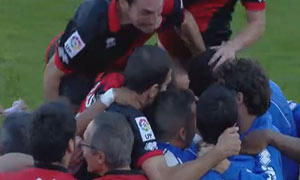 Almeria 0-1 Rayo Vallecano