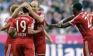 Bayern Munich 4-1 Mainz