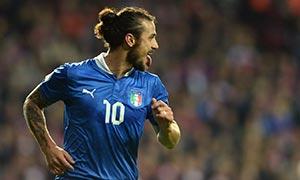 Denmark 2-2 Italy