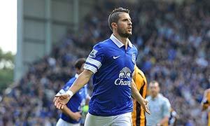 Everton 2-1 Hull City