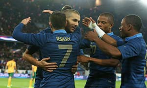 France 6-0 Australia