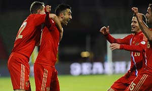 Luxembourg 0-4 Russia