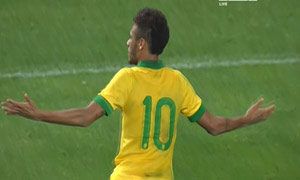 South Korea 0-2 Brazil