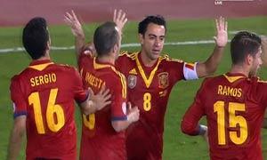 Spain 2-1 Belarus
