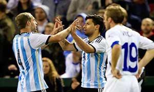 Argentina 2-0 Bosnia-Herzegovina