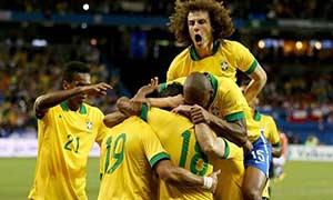 Brazil 2-1 Chile