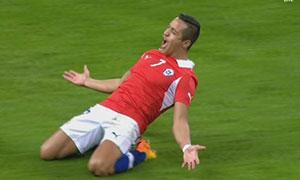 England 0-2 Chile