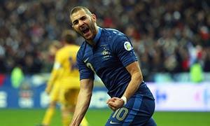 France 3-0 Ukraine