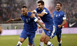 Greece 3-1 Romania