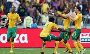 South Africa 1-0 Spain