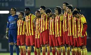 Cartagena 1-4 Barcelona
