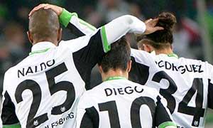 Wolfsburg 2-1 Ingolstadt
