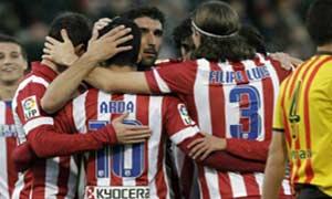 Sant Andreu 0-4 Atletico Madrid