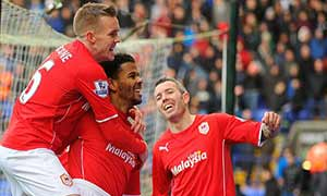 Bolton Wanderers 0-1 Cardiff City