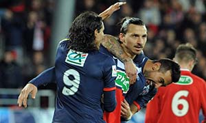 Brest 2-5 Paris Saint-Germain