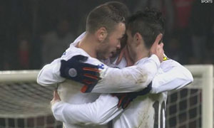 Paris Saint-Germain 1-2 Montpellier