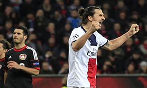 Bayer Leverkusen 0-4 Paris Saint-Germain