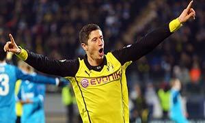 Zenit 2-4 Borussia Dortmund