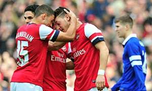 Arsenal 4-1 Everton