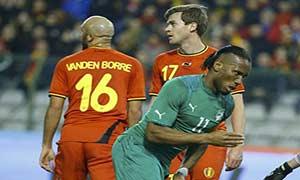 Belgium 2-2 Ivory Coast
