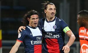 Lorient 0-1 Paris Saint-Germain