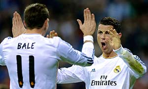 Real Madrid 3-1 Schalke