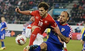 Switzerland 2-2 Croatia