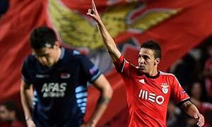Benfica 2-0 AZ Alkmaar