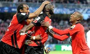 Guingamp 3-1 AS Monaco