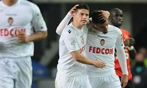 Rennes 0-1 AS Monaco