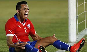 Chile 3-2 Egypt