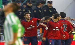 Osasuna 2-1 Real Betis
